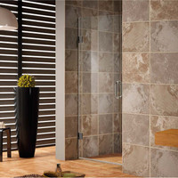"Active Home Centre 31.5"" Frameless Tempered Glass Shower Door"