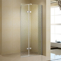 "Active Home Centre 41"" Walk-in Tempered Glass Shower Screen"