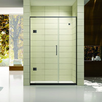 "Active Home Centre 59"" Tempered Glass Shower Door"