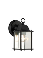 Active Home Centre Medium Outdoor 1 Light Wall Sconce in Black