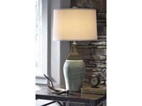 Ashley Niobe Table Lamp Set of 2 in Multi Gray