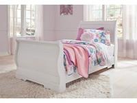 Ashley Anarasia Twin Bedframe in White