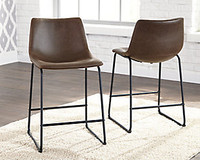 Ashley Centiar Upholstered Counter Height Stool