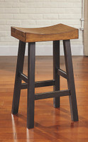 Ashley Glosco Tall Stool in Distressed Finish