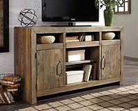 "Ashley Sommerford 62"" TV Stand in Brown"