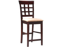 Coaster Counter Height Bar Stool in Cappuccino