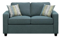 Coaster Brownswood Loveseat in Green