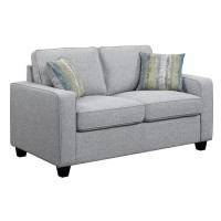 Coaster Brownswood Loveseat in Ash