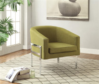 Coaster Accent Chair in Green