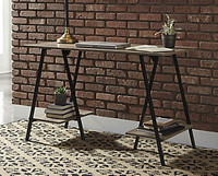 Ashley Bertmond Home Office Desk in Two Tone