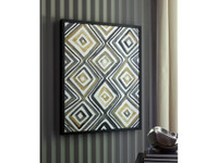 Ashley Priela Wall Art in Black and Gold