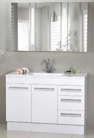 "Active Home Centre 48"" Bathroom Vanity with Mirror in White"