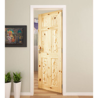 "Active Home Centre Colonial 6 Panel 32""x 80"" Knotty Pine Door"