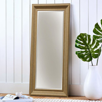 Style Craft Full Sized Floor Mirror in Aged Chestnut