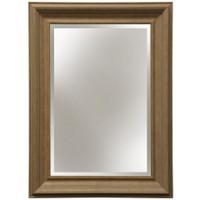 Style Craft Rectangular Mirror in Aged Chestnut