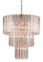 Active Home Centre 9-Light Chandelier in Polished Chrome