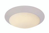Active Home Centre 13W LED Flush Mount in White
