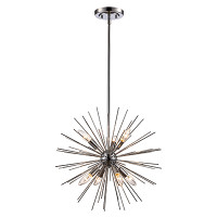 Active Home Centre 7-Light Pendant in Polished Chrome