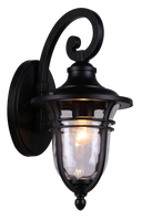 Active Home Centre Outdoor Wall Sconce in Black