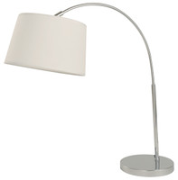 Active Home Centre 1 Light Table Lamp in Nickel