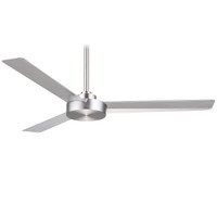 "Minka-Aire Roto 52"" Indoor Ceiling Fan in Brushed Aluminium"