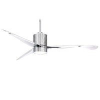 "Minka-Aire Mojave 56"" Indoor LED Ceiling Fan in Chrome"
