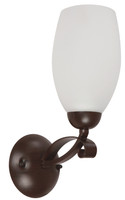 Active Home Centre 1 Light Wall Sconce in Oiled Brushed Bronze