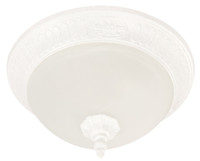 Active Home Centre Flush Mount in Textured White