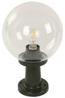 Active Home Centre 1 Light Post Mount in Black