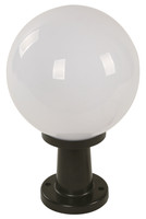 New Arrival - Active Home Centre 1-Light Post Mount in Black