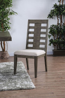 Furniture of America Jayden Side Chair in Gray