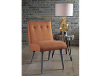 Ashley Zittan Accent Chair in Papaya