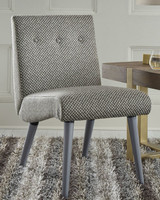 Ashley Zittan Accent Chair in Stone