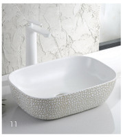Active Home Centre Countertop Art Vessel in White