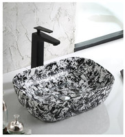 Active Home Centre Countertop Art Vessel in Black and White