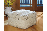 Ashley Celeste Pouf in Oatmeal
