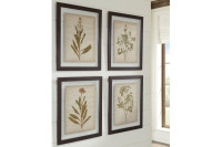 Ashley Dyani Wall Art (Set of 4) in Multi