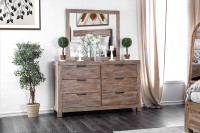 Furniture of America Wynton Dresser in Light Oak