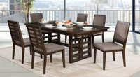 Furniture of America Ryegate Dining Table in Walnut
