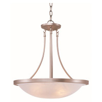 New Arrival - Active Home Centre 3 Light Pendant in Brushed Nickel