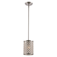New Arrival - Active Home Centre 1 Light Pendant in Polished Chrome