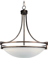 Active Home Centre 4 Light Hanging Lamp in Brown