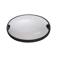 Active Home Centre 1-Light Bulkhead Light in Black