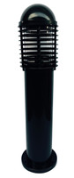 Active Home Centre Outdoor Fiberglass Bollard Light in Black