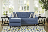 New Arrival - Ashley Aldie Nuvella Sofa Chaise in Blue