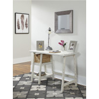 New Arrival - Ashley Mirimyn Home Office Desk in Antique White