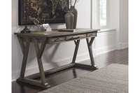 New Arrival - Ashley Luxenford Home Office Desk in Grayish Brown