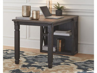 New Arrival - Ashley Tyler Creek Bookcase Desk in Two Toned Finish