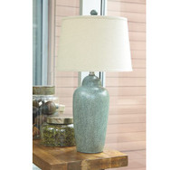 New Arrival - Ashley Saher Table Lamp in Green