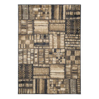 Ashley Hilliard Rug in Black and Brown